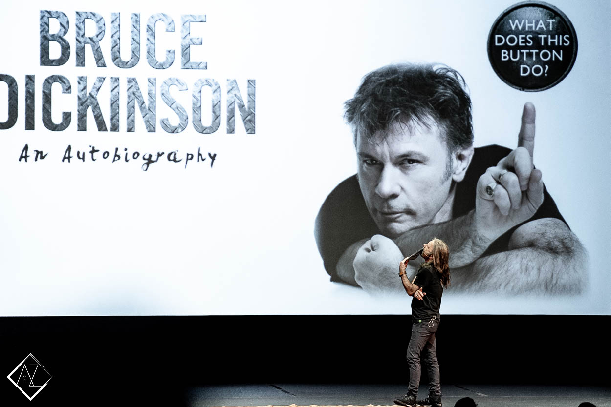 An Evening with Bruce Dickinson at Theatre Pallas!